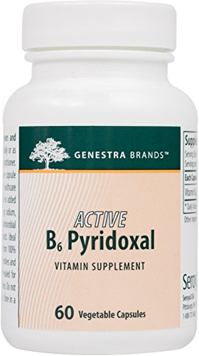 Genestra Brands Pyridoxal Pyridoxal 5 Phosphate Supplement