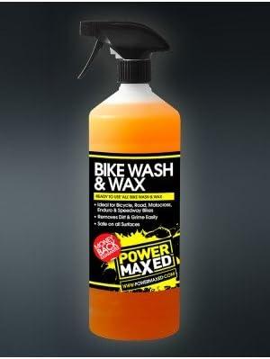 Power Maxed bwsrtu Bicicleta Lavado y Cera, 1 litro: Amazon.es ...