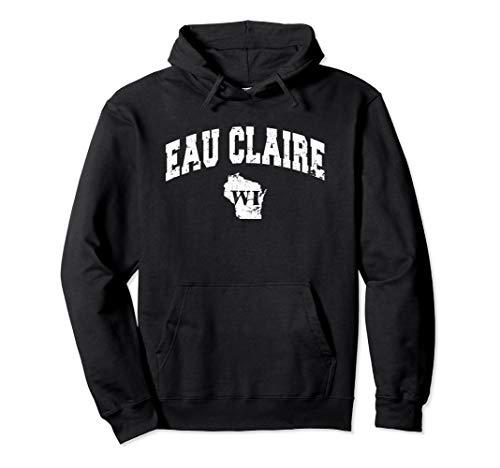 Eau Claire, Wisconsin - Retro Vintage Hoodie