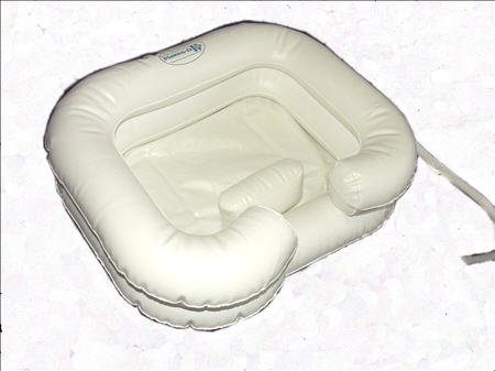 Disabled Shampoo Inflatable Basin Access