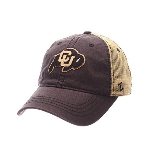 (Zephyr NCAA Colorado Buffaloes Men's Springtime Relaxed Cap, Adjustable, Gray)