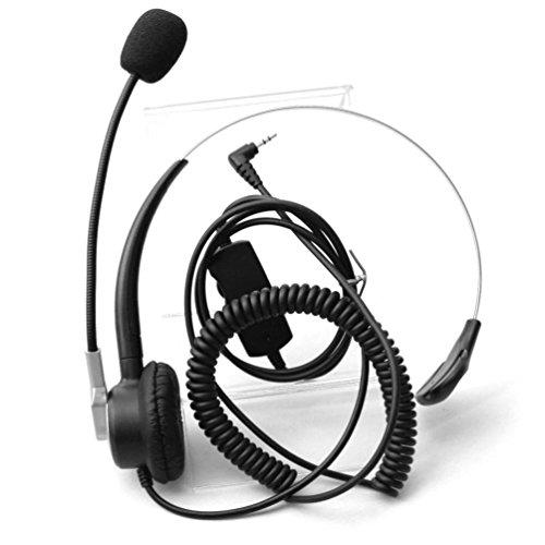 Amazon Com Comdio H303vp1 2 5mm Call Center Headset Headphone With