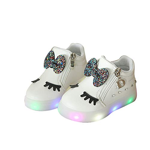 Zarachielly Kids LED Light up Shoes Flashing Sneakers Boys Girls Child Unisex