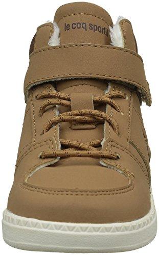 Le Coq Sportif 1620484 - Zapatillas altas de invierno Unisex para niños Marrón (Tan/Mustang/Marshmal)