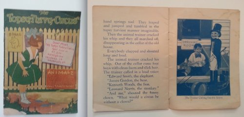The Topsy Turvy Circus by Grace Johnston 1926 (Topsy Circus Turvy)