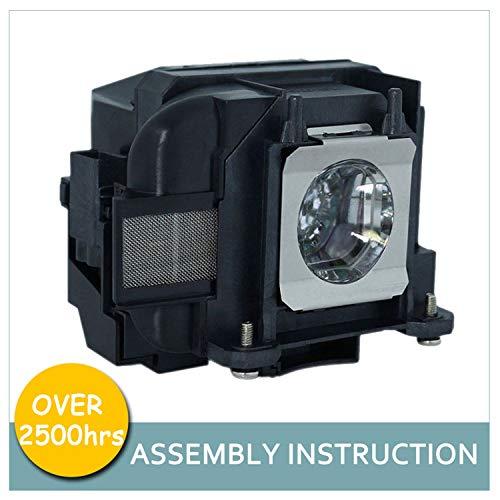 LOUTOC Projector Lamp Bulb V13H010L78 for Epson ELPLP78 PowerLite Home Cinema 2000 2030 725HD 730HD 600 VS230 VS330 VS335W EX3220 EX6220 EX7220 EX7230 EX7235