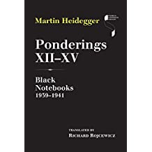 Ponderings XII–XV: Black Notebooks 1939–1941 (Studies in Continental Thought)