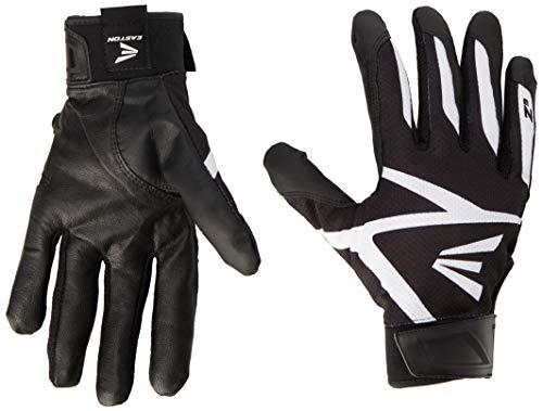 Easton Z3 Hyperskin Batting Gloves, Black, Medium