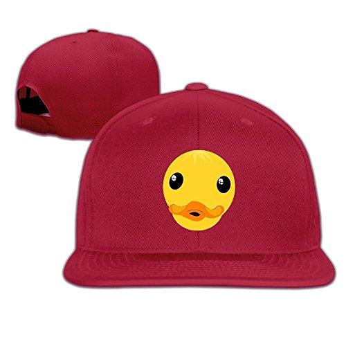 XYMYFC-E Clipart Duck Face Flat Flap Adult Running Hat