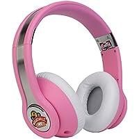 Margaritaville Audio MIX1-PINK High Fidelity Headphones, Conch Pink
