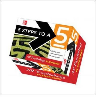 5 Steps to a 5 AP Psychology Flashcards (5 Steps to a 5: AP Psychology) (Cards) - Common