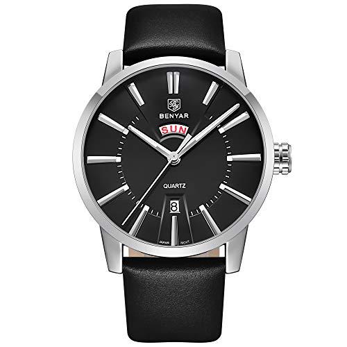 Waterproof 30M 2018 BENYAR Watches Men Luxury Brand Quartz Watch Fashion Sports Wristwatch Auto Date Week Casual Men's Watches