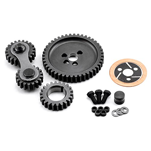 (Chevy SBC 350 Dual Idler Noisey Timing Gear Drive Set)