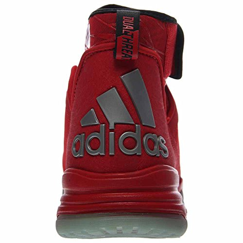 free shipping cheap price pick a best cheap price Adidas Dual Threat Mens Basketball Shoes 7.5 Scarlet-Black-White free shipping good selling genuine yYfZ0isrs