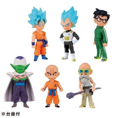 Pre Sale! Dragon Ball Z the Movie Resurrection F WCF World Collectable Figure Vol. 1 Complete Set (6 Pcs)