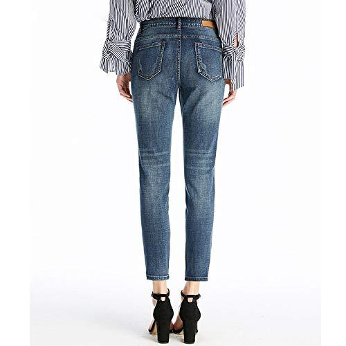 neu MVGUIHZPO Neue Femme Die Jeans ist M Damenjeans gqgwU