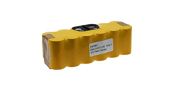 Powery Batería para Robot Aspirador Vacuum Cleaner U290: Amazon.es ...