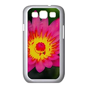 Nymphaea Watercolor style Cover Samsung Galaxy S3 I9300 Case (Flowers Watercolor style Cover Samsung Galaxy S3 I9300 Case)