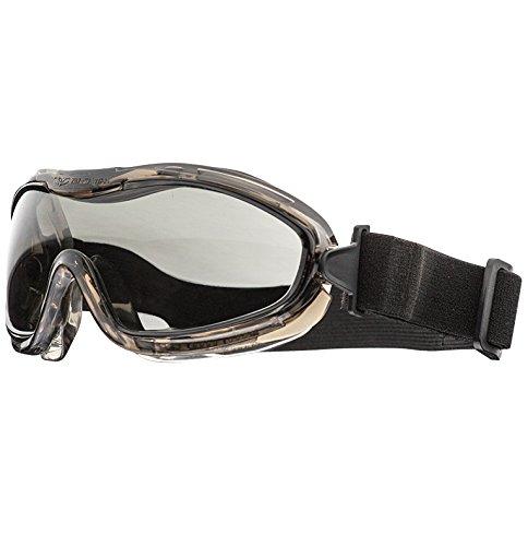(Valken Airsoft Alpha Goggles, Smoked Grey Lens)