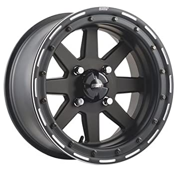 2.0 Matte Black for Yamaha YXZ1000R 2016-2018 4//110 Douglas Star Fighter Beadlock Wheel 15x7 5.0