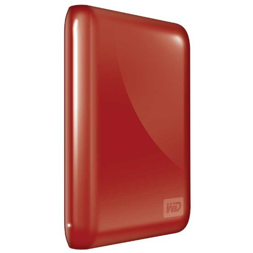 (WD My Passport Essential 320 GB USB 2.0 Portable External Hard Drive (Real Red))