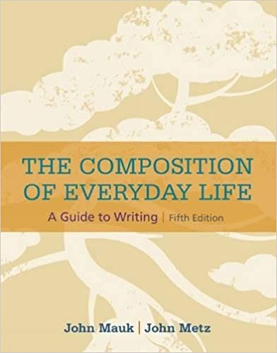Amazon the composition of everyday life the composition of isbn 13 978 1305081581 fandeluxe Image collections