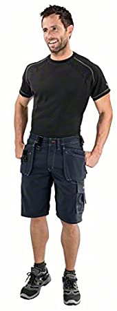 Bosch WHSO 05 Professional Waist 34 Shorts with Holster Pockets W34 Beige manufacturer size: C50