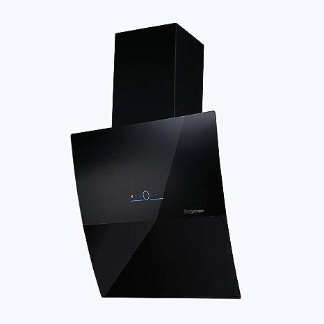 Bergstroem Campana extractora Cristal LED Campana de pared (kopffrei mando a distancia Black Elegance 60 cm Negro: Amazon.es: Grandes electrodomésticos