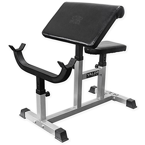 Valor Fitness CB-6 Adjustable Arm Curl Bench ()