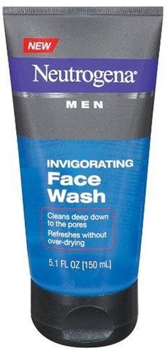Neutrogena Men Invigorating Face Wash, 5.1 Ounce