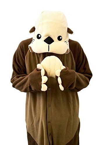 Sea Otter Kigurumi - Adults Costume - Import It All 6d1760d50