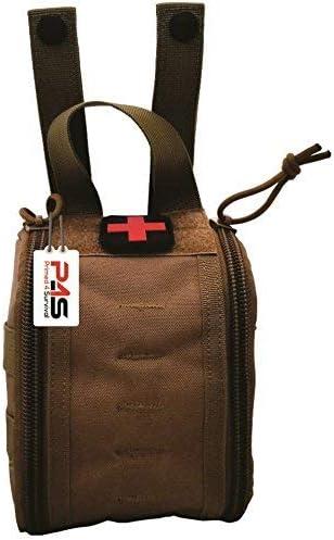 Camping Hiking Emergency Survival Tourniquet Shear MOLLE Pouch Bag Black