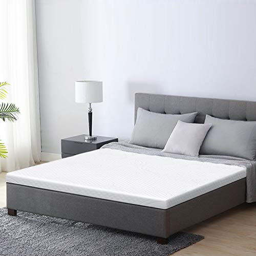 SOFTA 3 Inch Mattress Topper, Twin XL Gel Memory Foam Mattress Topper, Pressure-Relieving Bed Topper with Removable&Washable Cover
