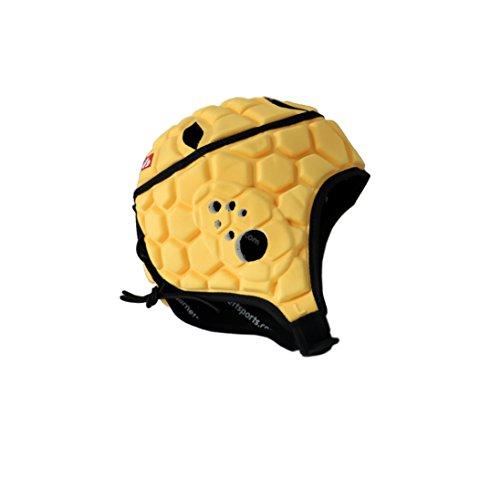 Barnett Heat Pro Helmet, Rugby, Flag Football, 7 on 7 (Light Gold) (S)
