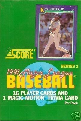 - 1991 Score 1 Baseball Card Unopened Hobby Box