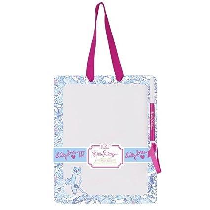 Amazon Lilly Pulitzer Dry Erase Board Kappa Kappa Gamma Adorable Lilly Pulitzer Memo Board