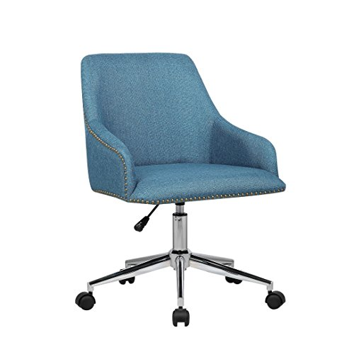 Porthos Home Delilah Office Chair, Blue