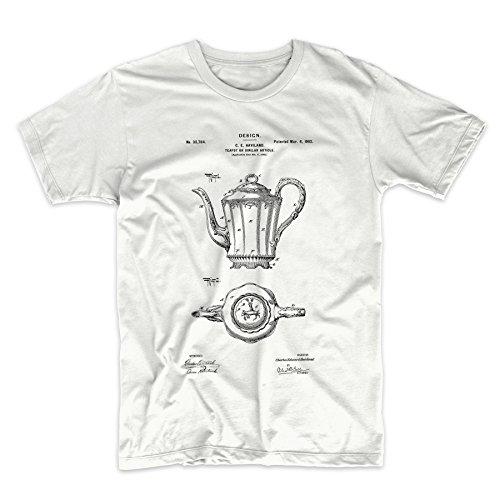 PatentPrints Haviland Limoges Teapot Patent T Shirt