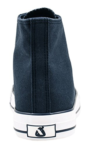 36 Sneakers DkBlue nbsp;47 Sport Sneaker Scarpe High Unisex Uomo Scarpe Tessile nbsp;– Top Elara Per Donna ZB67xxp