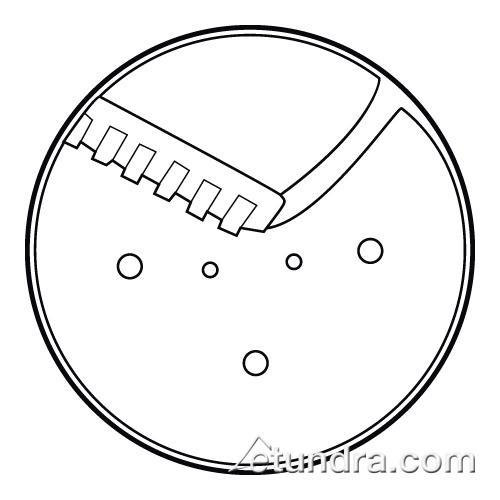 waring french fry disc - 2