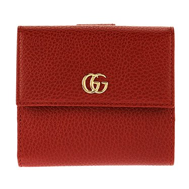 cheap for discount 4a21d d4af7 Amazon | (グッチ)GUCCI 二つ折り財布 プチ マーモント レザー ...