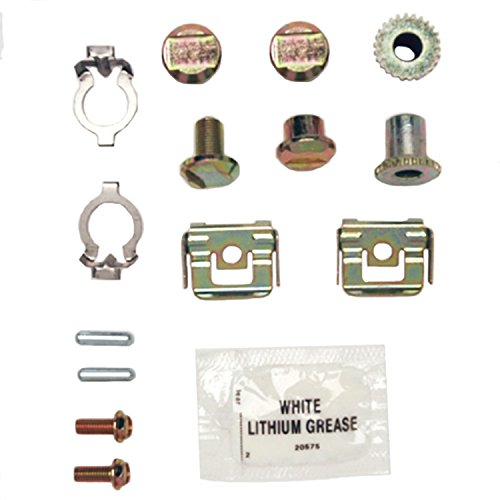 (ACDelco 18K1626 Professional Rear Parking Brake Hardware Kit with Clips, Adjusters, Pins, Bolts, and Grease)