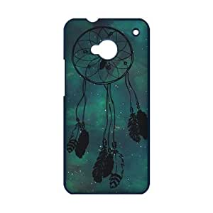 Generic Cell Phone Case For Htc One M7 case Colorful Cloud Dream Catcher Design Mobile Phone Cases Hard Back cover Protective shell