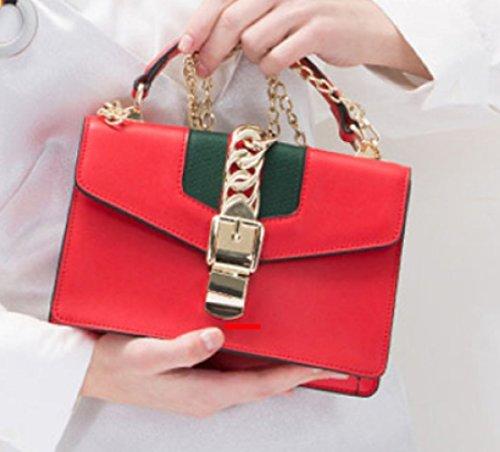 Shoulder Crossbody Red Women Casual Small Ladies Handbag Mini Messenger Bags Bag TqEdEw
