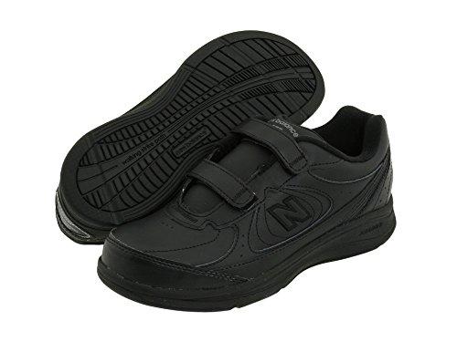 (ニューバランス) New Balance レディースウォーキングシューズ?靴 WW577 Hook and Loop Black 8.5 (25.5cm) D - Wide