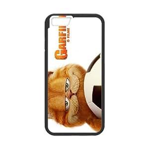 GARFIELD iPhone 6 Plus 5.5 Inch Cell Phone Case Black JU0041681