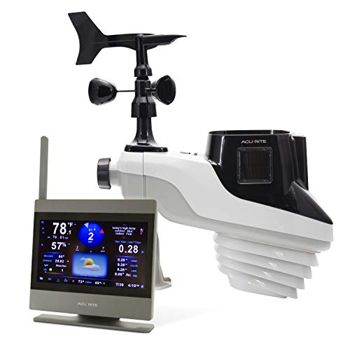 AcuRite 01009M Atlas Weather Station with High Definition Touchscreen Display (Station Weather Boat)