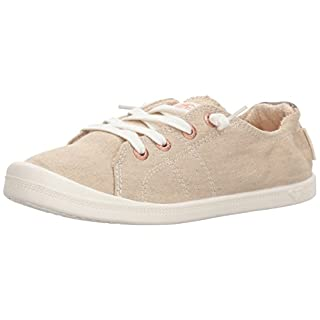 Roxy Women's Rory Slip On Shoe Sneaker, Sand, 9