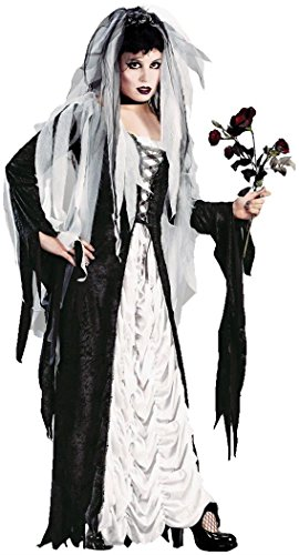 Gothic Coffin Costumes (Bride of Darkness Adult Costume -)
