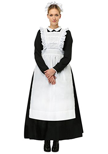 Womens Traditional Maid Plus Size Costume 2X